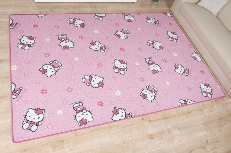 Kinderteppich 'Hello Kitty'
